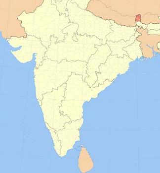 sikkim-karta